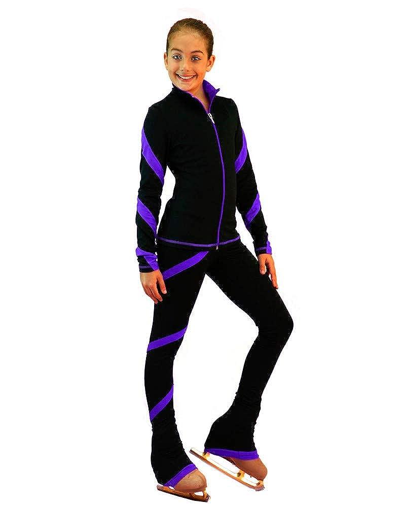 98f0f70031a54 Amazon.com: ChloeNoel Ice Skating Outfit - J636F Ice Skating Jacket and  P636F Ice Skating Pants: Clothing