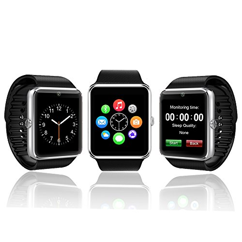 2-in-1 Phone & SmartWatch by Indigi - GT08 [iOS & Android Compatible] - Optional SIM Card + Pedometer + Notifcations