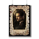 The Vampire Diaries TV Series Poster Small Prints 058-017 Tyler Lockwood Michael Trevino,Wall Art Decor for Dorm Bedroom Living Room (A4|8x12inch|21x29cm)