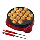 Health and Home Electric Takoyaki Maker With Free