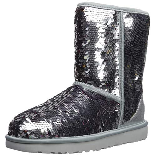 UGG Women's W Classic Short Sequin Fashion Boot - 51w7wJYYvUL. SS500 - Getting Down Under