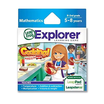 LeapFrog Explorer Cooking Recipes On The Road Learning Game