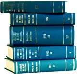 Recueil des Cours : Collected Courses of the Hague Academy of International Law, Académie de Droit International de la Ha Staff, 9041116079