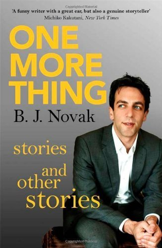 One More Thing: Stories and Other Stories by Novak, B. J. (2014) Paperback
