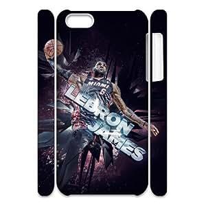 LJF phone case C-EUR Diy 3D Case LeBron James for iPhone 5C