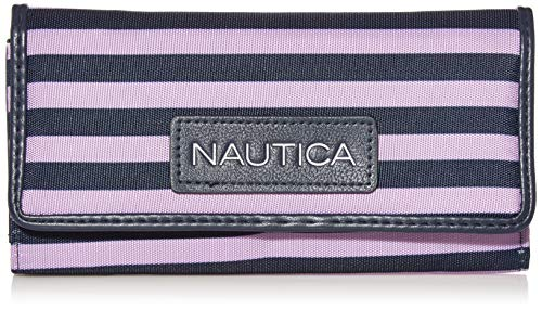 Nautica Women's Perfect Carry-All Money Manager RFID Blocking Wallet Organizer