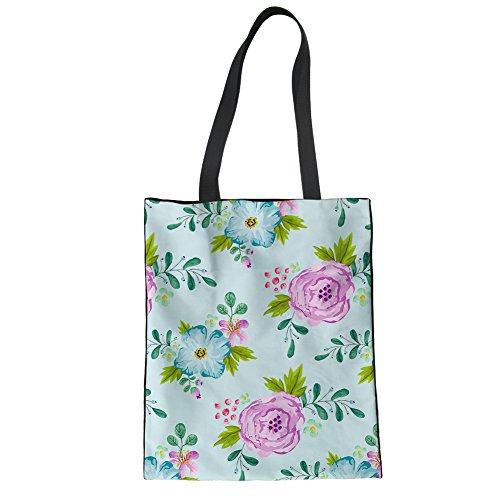 Showudesigns CC3460Z22, Borsa a mano donna Multicoloured Taglia unica flower 2