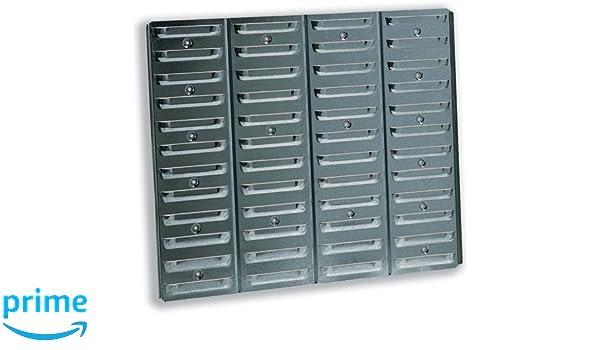 Raaco 520 - Panel de soporte para cajas archivadoras, 520 x 11 x 440 mm, 1 unidad: Amazon.es: Oficina y papelería