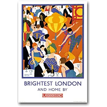 Amazon.com: ta57 Vintage 1920 de Londres, Brightest ...