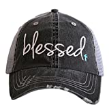 Blessed Women's Trucker Hats Caps by Katydid Mint