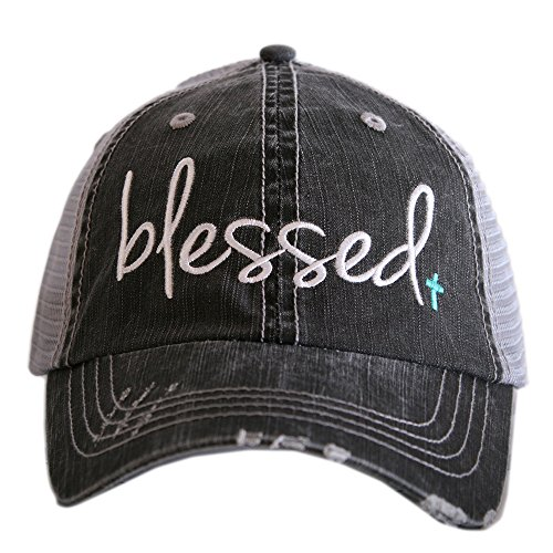 (Blessed Women's Trucker Hats Caps by Katydid Mint)