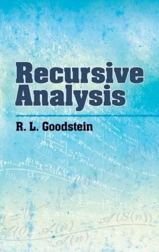 Download Recursive Analysis (Dover Books on Mathematics) ebook