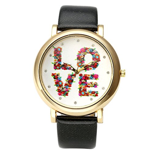 Top Plaza Colorful Fashion Watch Black
