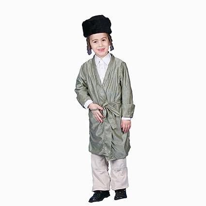 Dress Up America Disfraz de rabino judío Adulto: Amazon.es ...