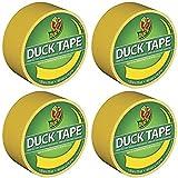 """Duck 1304966 Tape, Yellow Sunburst, 1.88"""" x 20"""