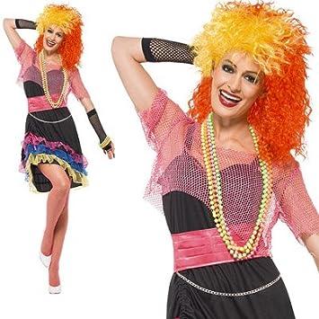 1980s Cyndi Lauper Fancy Dress Costume  sc 1 st  Amazon UK & 1980s Cyndi Lauper Fancy Dress Costume: Amazon.co.uk: Toys u0026 Games