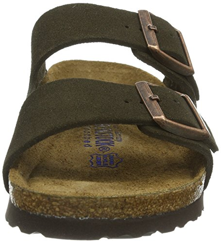 Birkenstock womens Arizona from Leather Sandals Mocha KT1fv