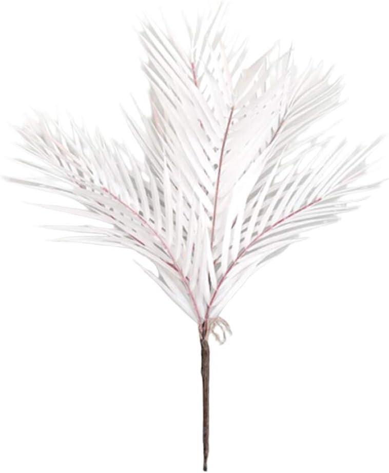 Blue LOVIVER Artificial Palm Leaves Faux Stems Tropical Plant Simulation Stem others57cm