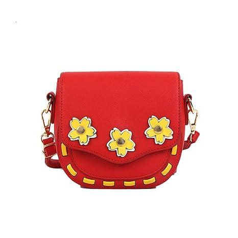 Chlyuan-bag Bolso De Niñas Girls Cute Bloom PU Cuero ...