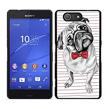 Funda carcasa para Sony Xperia Z3 Compact perro carlino con ...