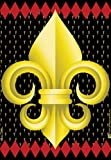 Cheap Jeremiah Junction Fleur-de-Lis House Flag