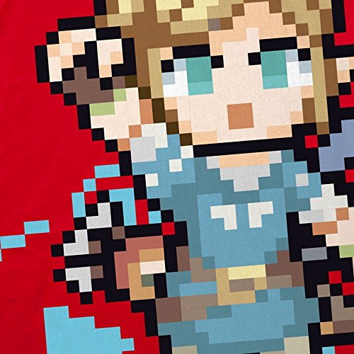 Red The Snes para mujer Zelda Hormiga Of Breath Switch Wild Camiseta Ocarina Link nqYxCwSv