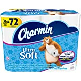 Charmin Ultra Soft Toilet Paper, 154 sheets, 9 double rolls, (Pack of 4)
