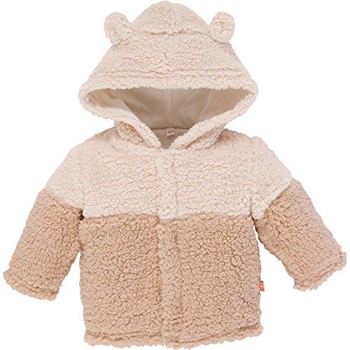 Cream Fleece Jacket - Magnificent Baby Baby Magnetic Smart Bears Ombre Fleece Jacket a, Cream Ombre, 18-24 Months