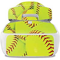 Skin For DJI Goggles – Softball Collection | MightySkins Protective, Durable, and Unique Vinyl Decal wrap cover | Easy To Apply, Remove, and Change Styles | Made in the USA