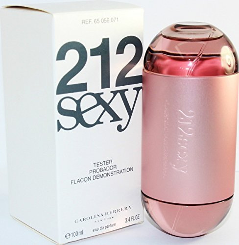 (212 SEXY (TESTER) By Carolina Herrera eau de Parfum spray 3.4oz for Women (White Box))