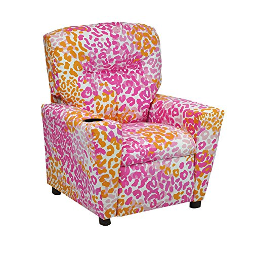 Kidzworld Liv Pink Kid's Recliner by Kidz World