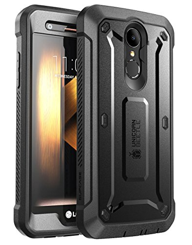 LG K20 Plus Case, SUPCASE [Unicorn Beetle PRO Series] Full-body Rugged Holster Case with Built-in Screen Protector for LG K20 V/LG K20 Plus/LG Harmony/LG LV5/LG K10 2017 (Not Fit LG K10 2016) (Black)