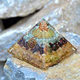 Orgonite Crystal Triple Money Pyramid Energy