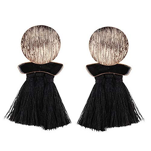 Monowi Womens Fashion Bohemian Earrings Long Tassel Fringe Boho Dangle Earrings Jewelry | Model ERRNGS - 4540 |
