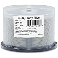 Verbatim 98485 BD-R 25GB 6X SHINY SILVER 50PK SPINDLE