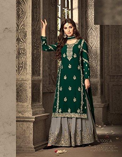 Salwar Indiano Girl Made Sharara Pakistano orbace 2673 Nuziale Custom Hijab bollywood Burka Ladies Donne Kameez uomo Musulmane Dress bodices Top PxqPza