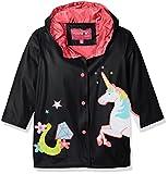 #7: Wippette Girls' Matte Unicorn Rain Jacket