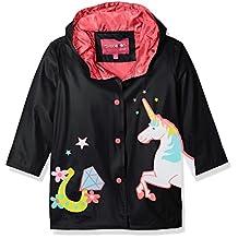 Wippette Girls Matte Unicorn Rain Jacket