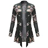 Blouse For Womens, Clearance Sale!!Farjing Women Long Sleeve Irregular Print Casual Cardigan Coat Tops Blouse(US:10/XL,Green )