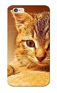 Summerlemond Anti-scratch And Shatterproof Cute Kitten Phone Case For Iphone 6/ High Quality Tpu Case