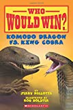 Komodo Dragon vs. King Cobra (Who Would Win?)