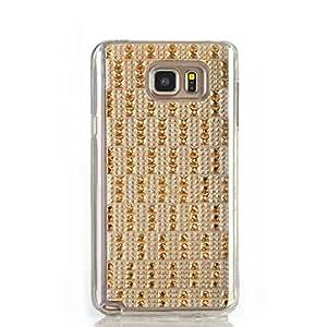 Gift_Source Note 5 Funda, Galaxy Note 5 Funda, Suave Ultra Delgada flexible Carcasa Resistente a los arañazos de gel TPU Funda paraSamsung Galaxy Note 5 [ Champagne ]