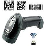 Kercan 2.4G Wireless USB Automatic 2D /QR / PDF417 / Data Matrix/ Aztec/ MAXICODE Bar Code Scanner KRW-588