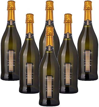 Prosecco Treviso DOC Antonini Ceresa Vino Espumoso Italiano (6 botellas 75 cl.)