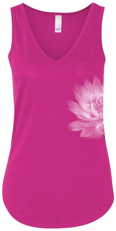 Yoga Clothing For You Ladies Lotus Flower Flowy Tank
