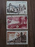 1955 French postage stamps