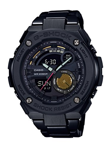 Casio GST200RBG-1A Mens Watch Black 52.4mm Stainless Steel Robert Geller- G-Shock