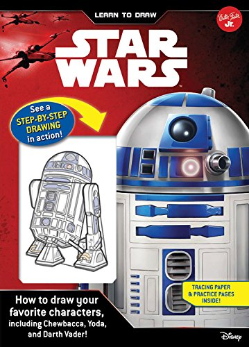 ars: How to draw your favorite characters, including Chewbacca, Yoda, and Darth Vader! (Licensed Learn to Draw) (Spiral Draw Book)