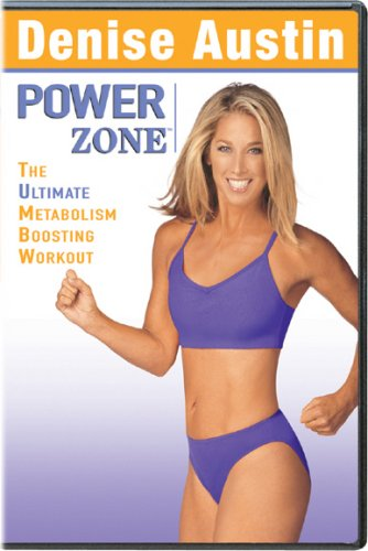 Denise Austin - Power Zone - The Ultimate Metabolism Boosting Workout 1-3 Version - Street Long Beach Store 2nd