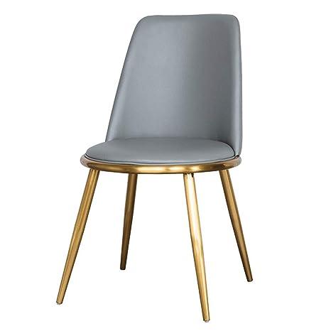 Amazon.com: Silla de comedor/hierro forjado/silla de ocio ...